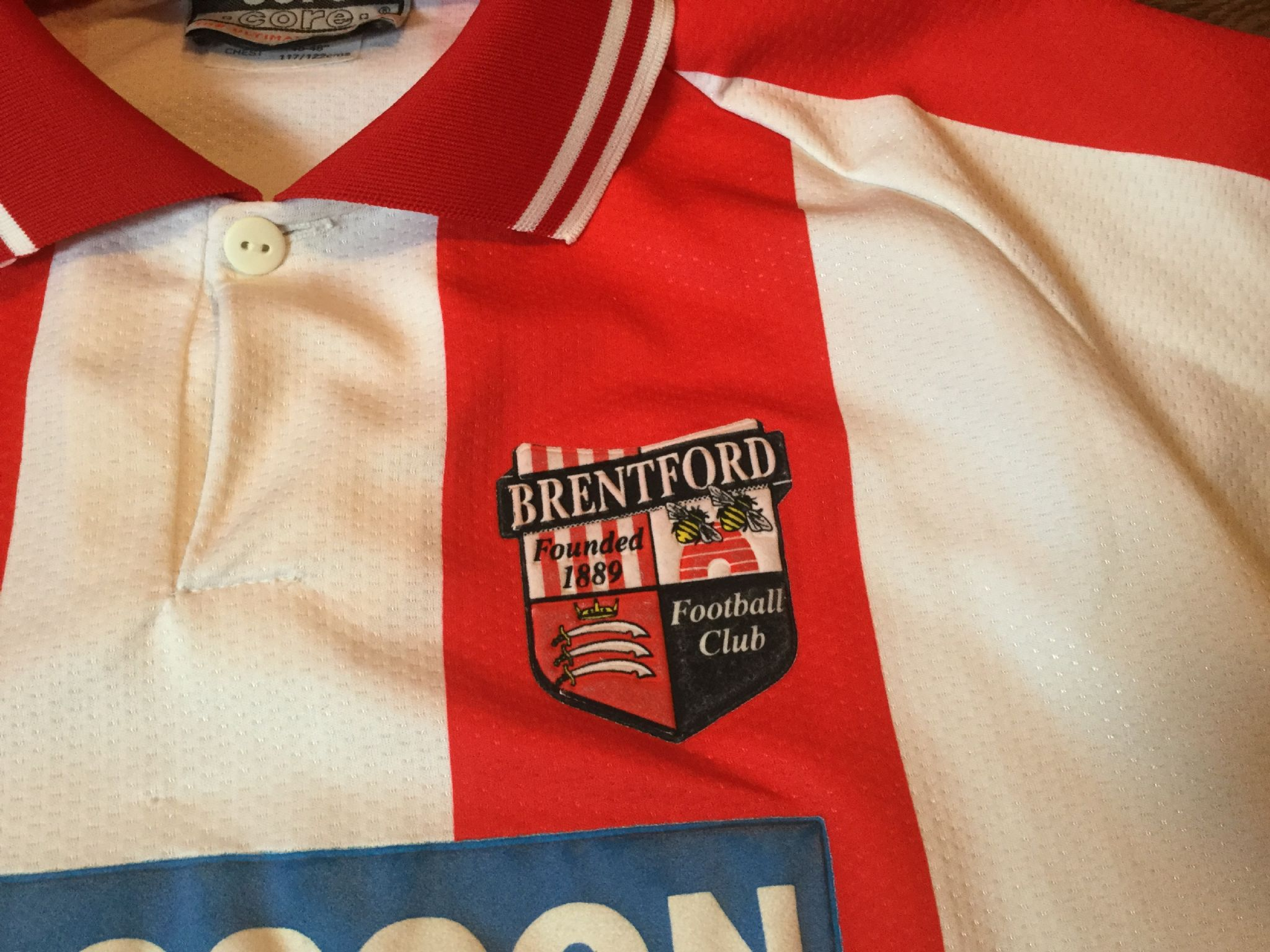 9874a625622d Global Classic Football Shirts | 1995 Brentford Vintage Retro Old Soccer  Jersey